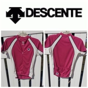 ⬇️Descente pink workout short sleeve